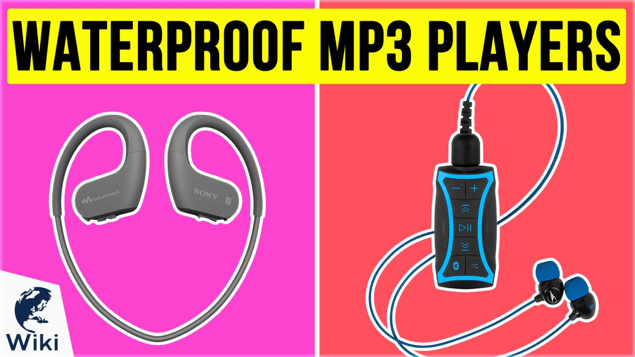 10 Best Waterproof MP3 Players