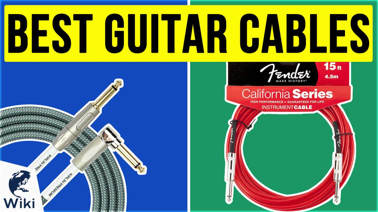 10 Best Guitar Cables