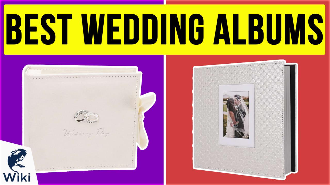 10 Best Wedding Albums