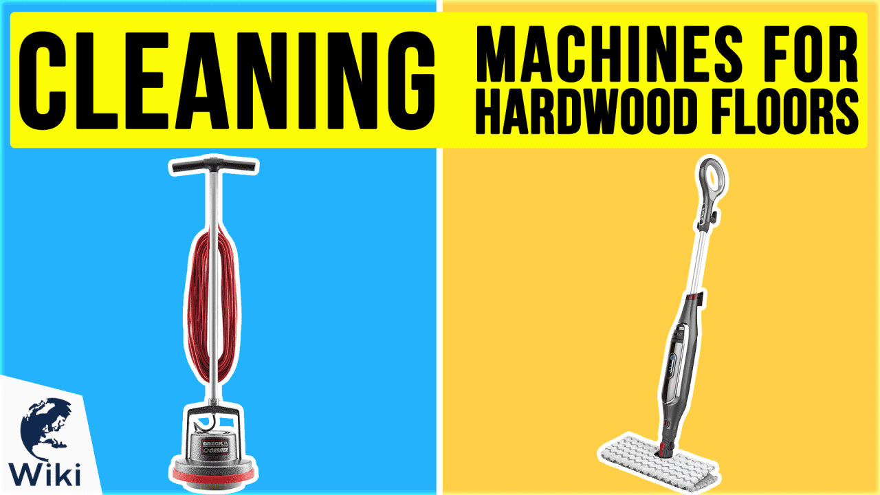 10 Best Cleaning Machines For Hardwood Floors