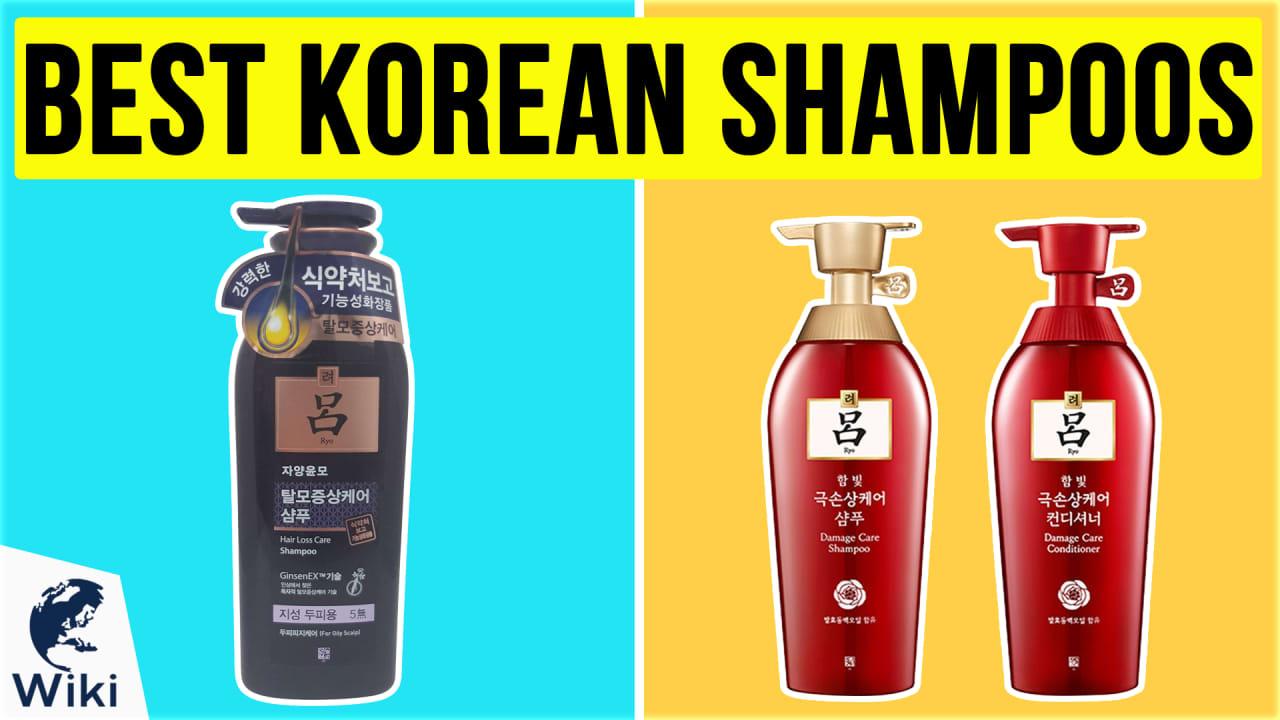 10 Best Korean Shampoos