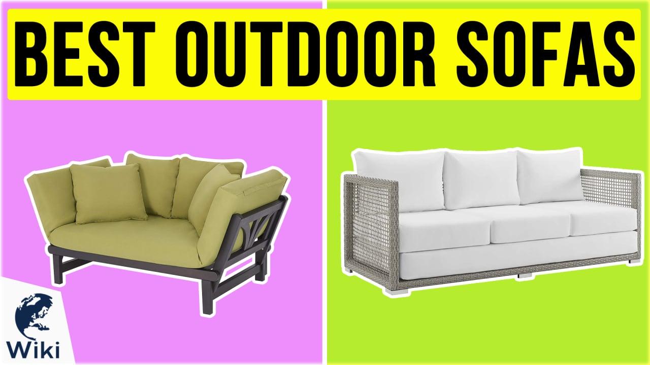 10 Best Outdoor Sofas