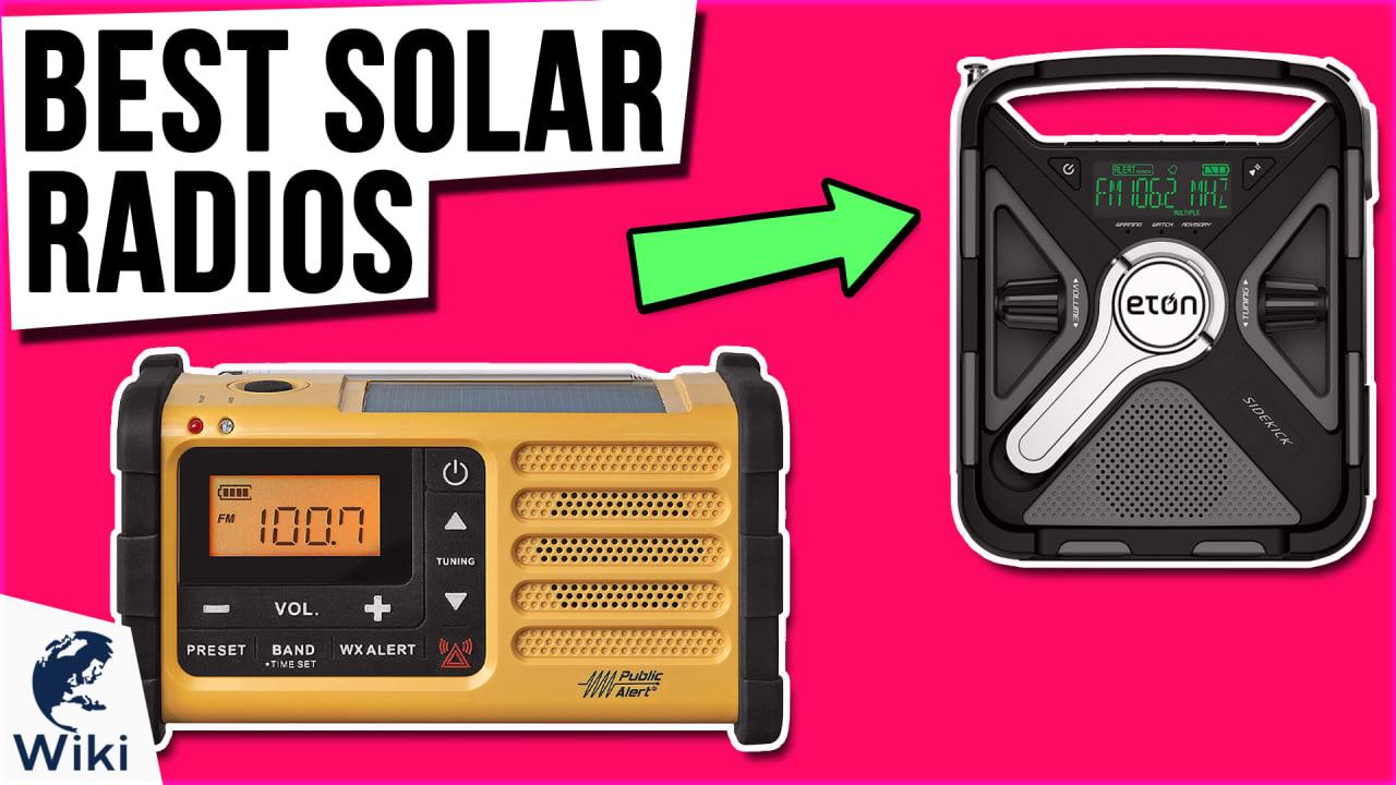 10 Best Solar Radios