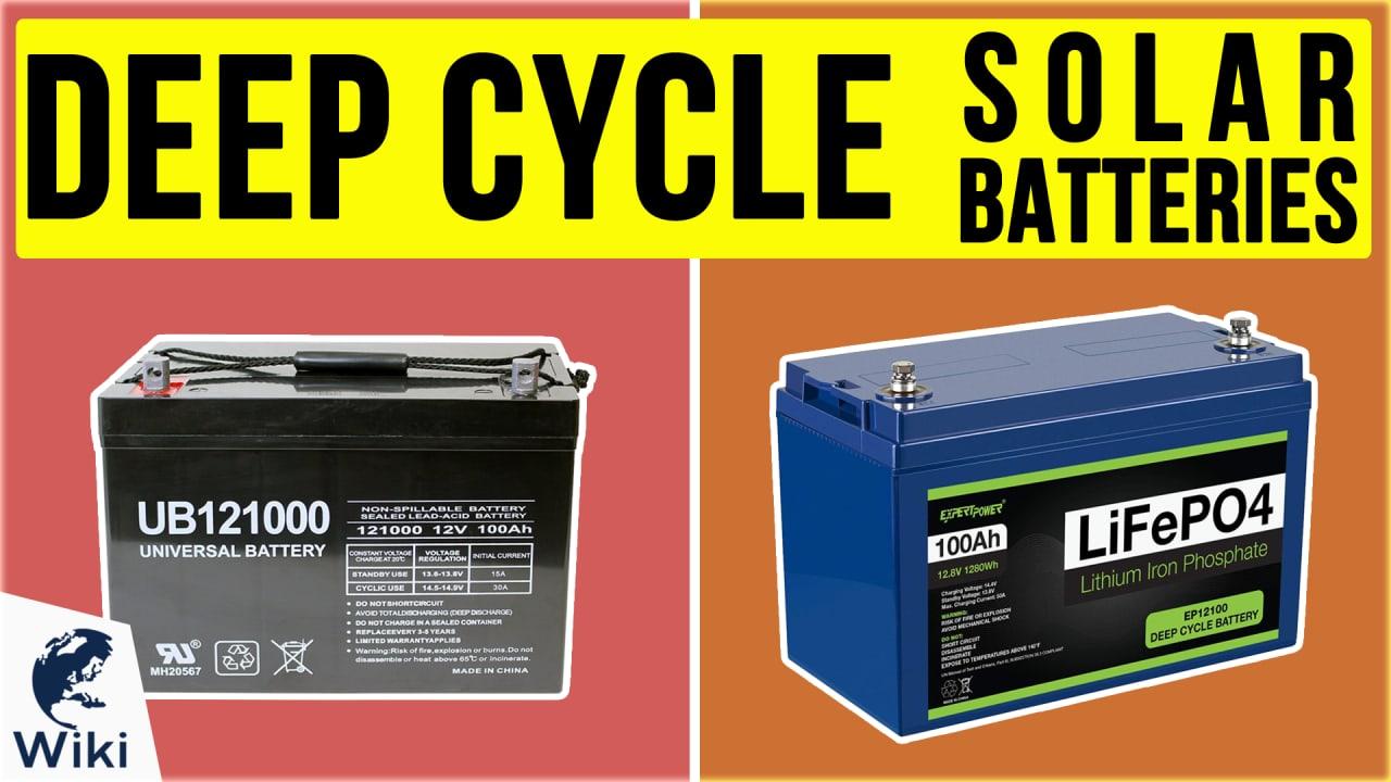 10 Best Deep Cycle Solar Batteries