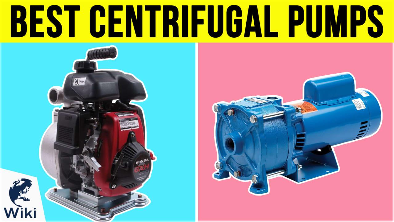 10 Best Centrifugal Pumps