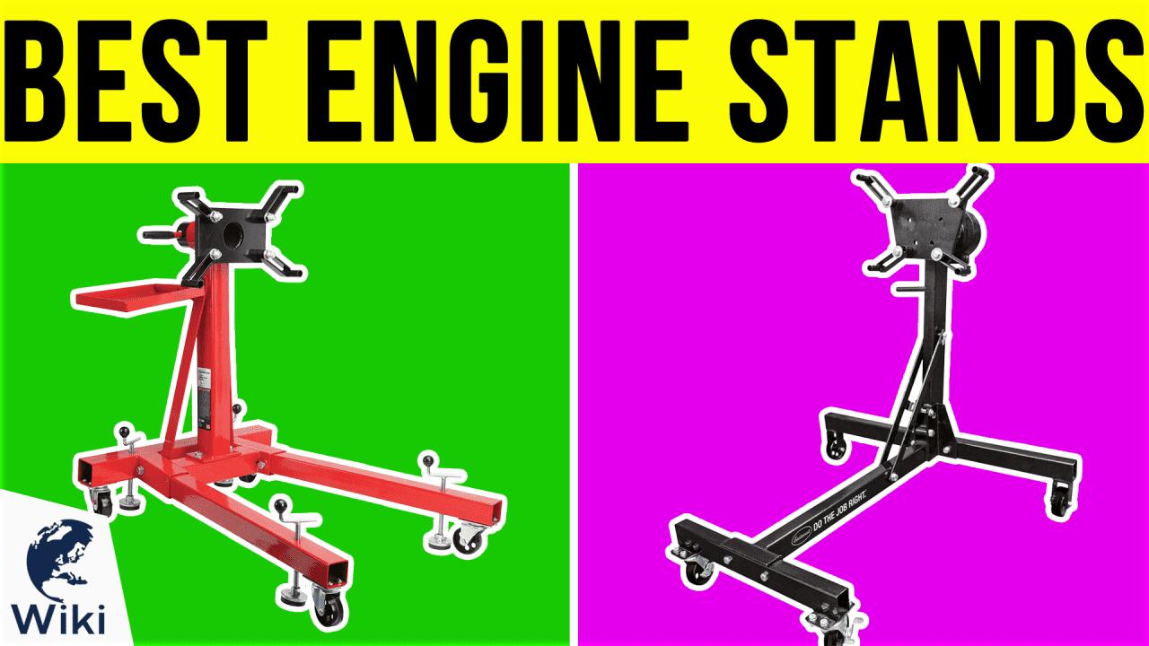 7 Best Engine Stands
