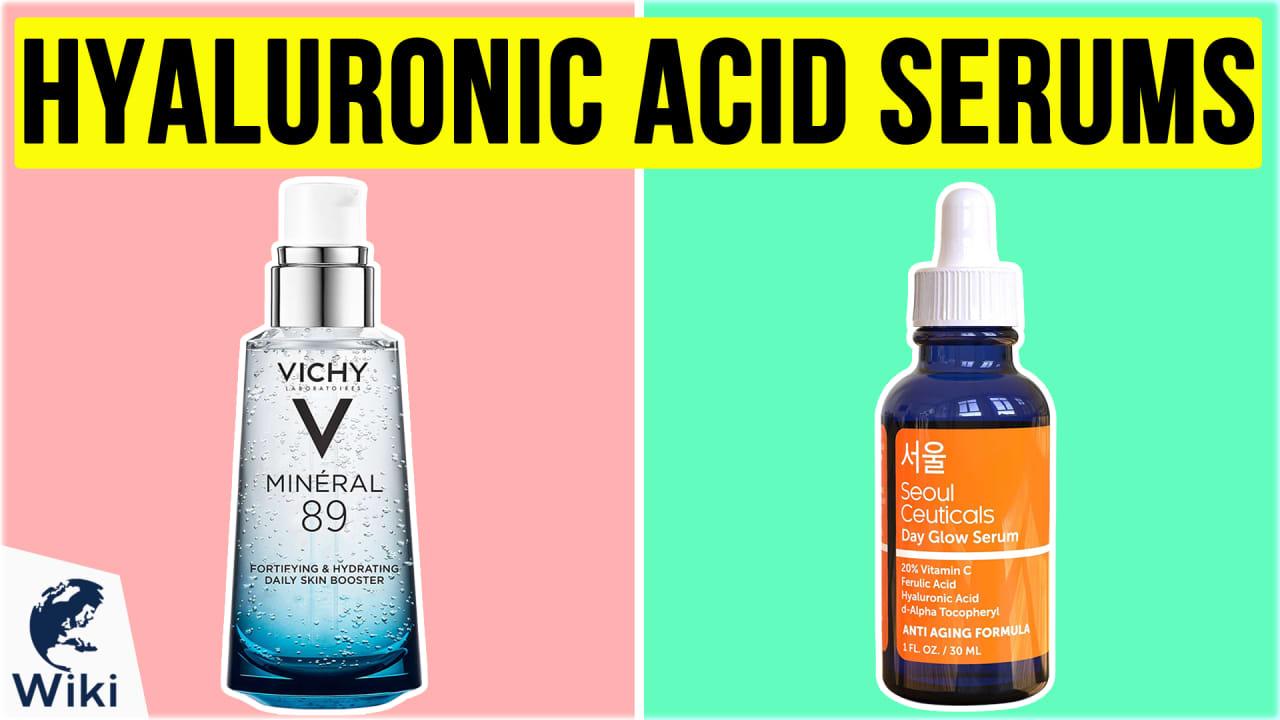 10 Best Hyaluronic Acid Serums