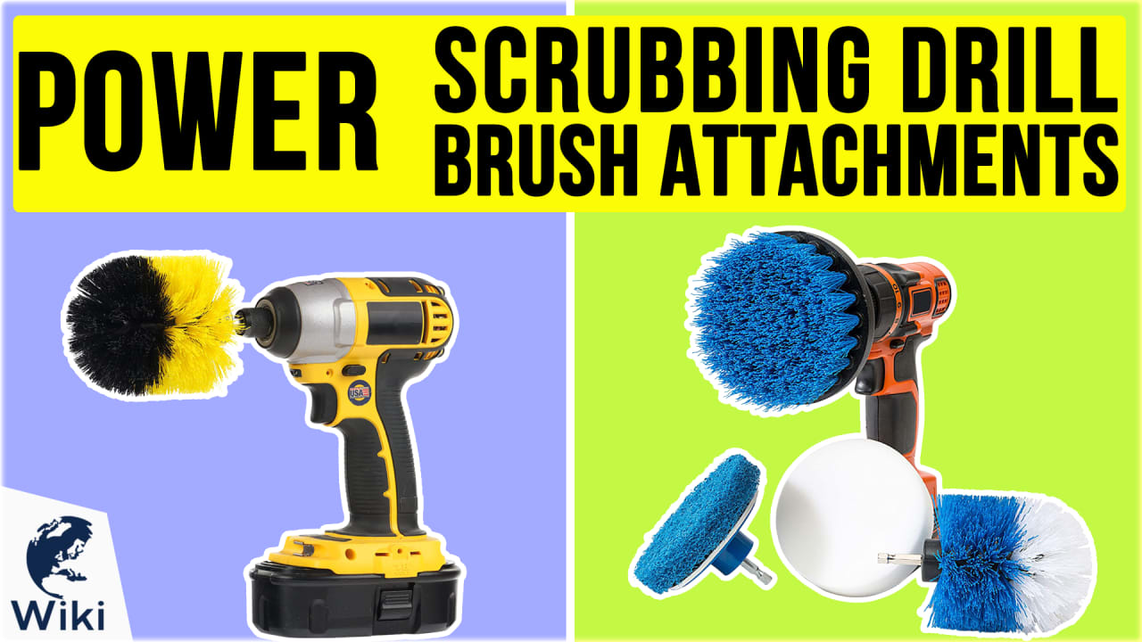 10 Best Power Scrubbing Drill Brush Attachments