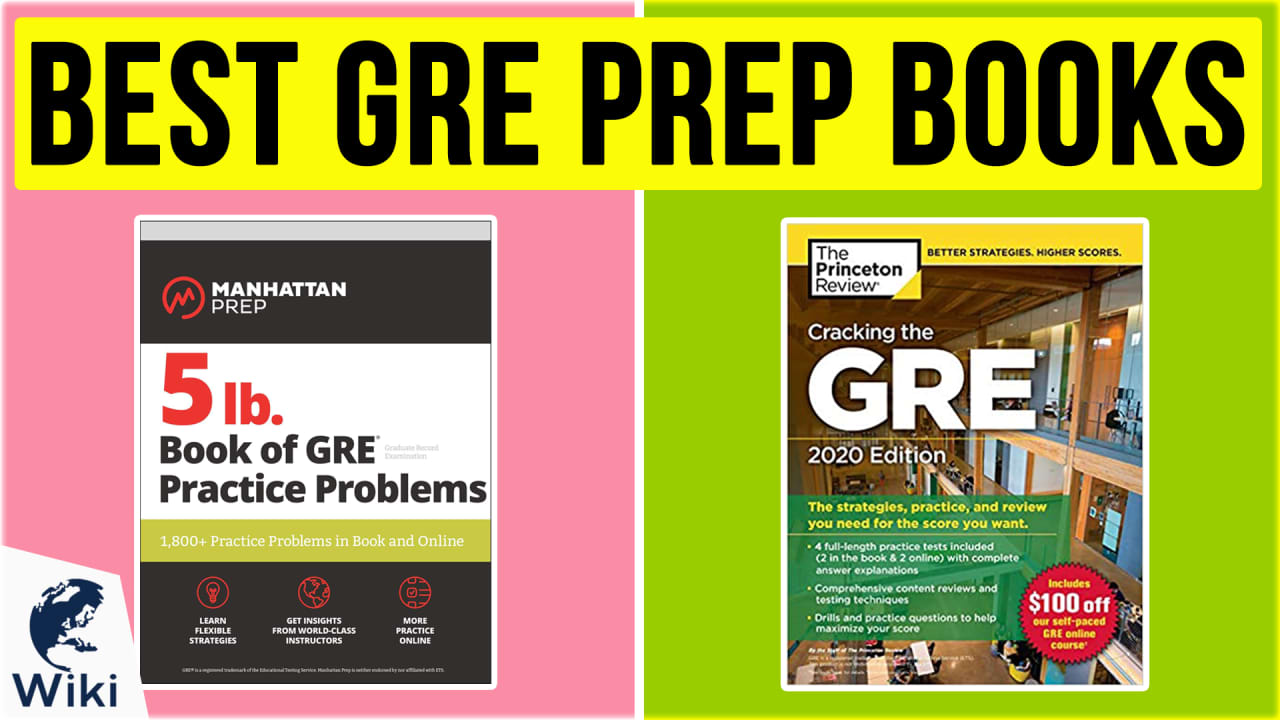 10 Best GRE Prep Books
