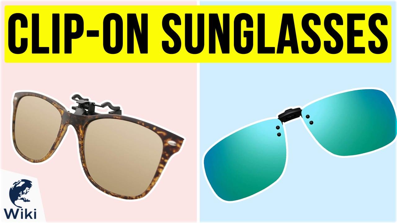 10 Best Clip-on Sunglasses