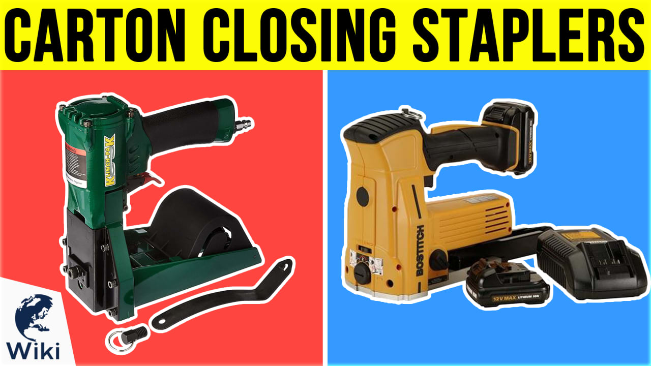 8 Best Carton Closing Staplers