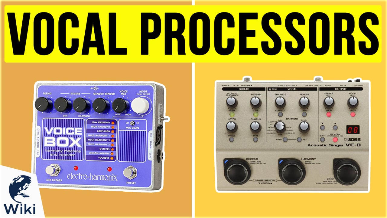 10 Best Vocal Processors