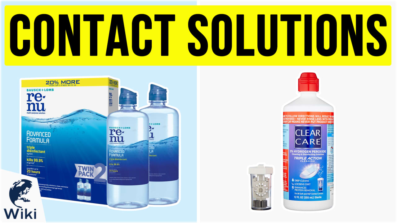 10 Best Contact Solutions