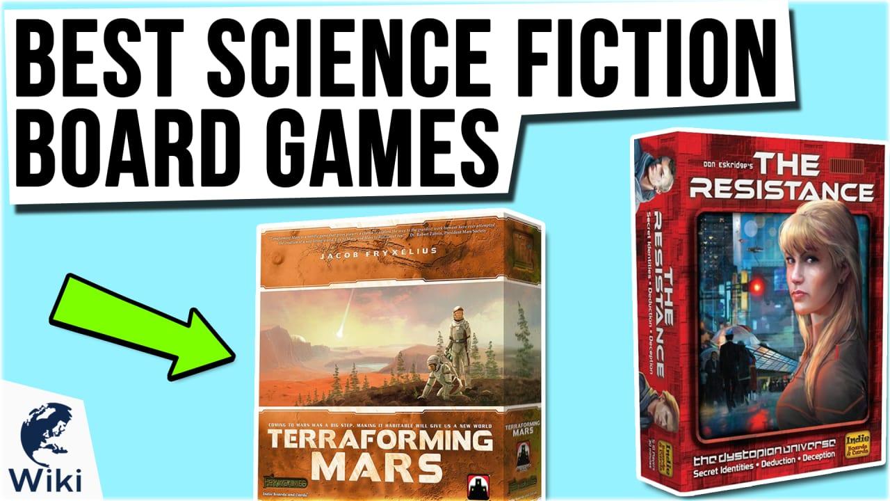 10 Best Science Fiction Board Games