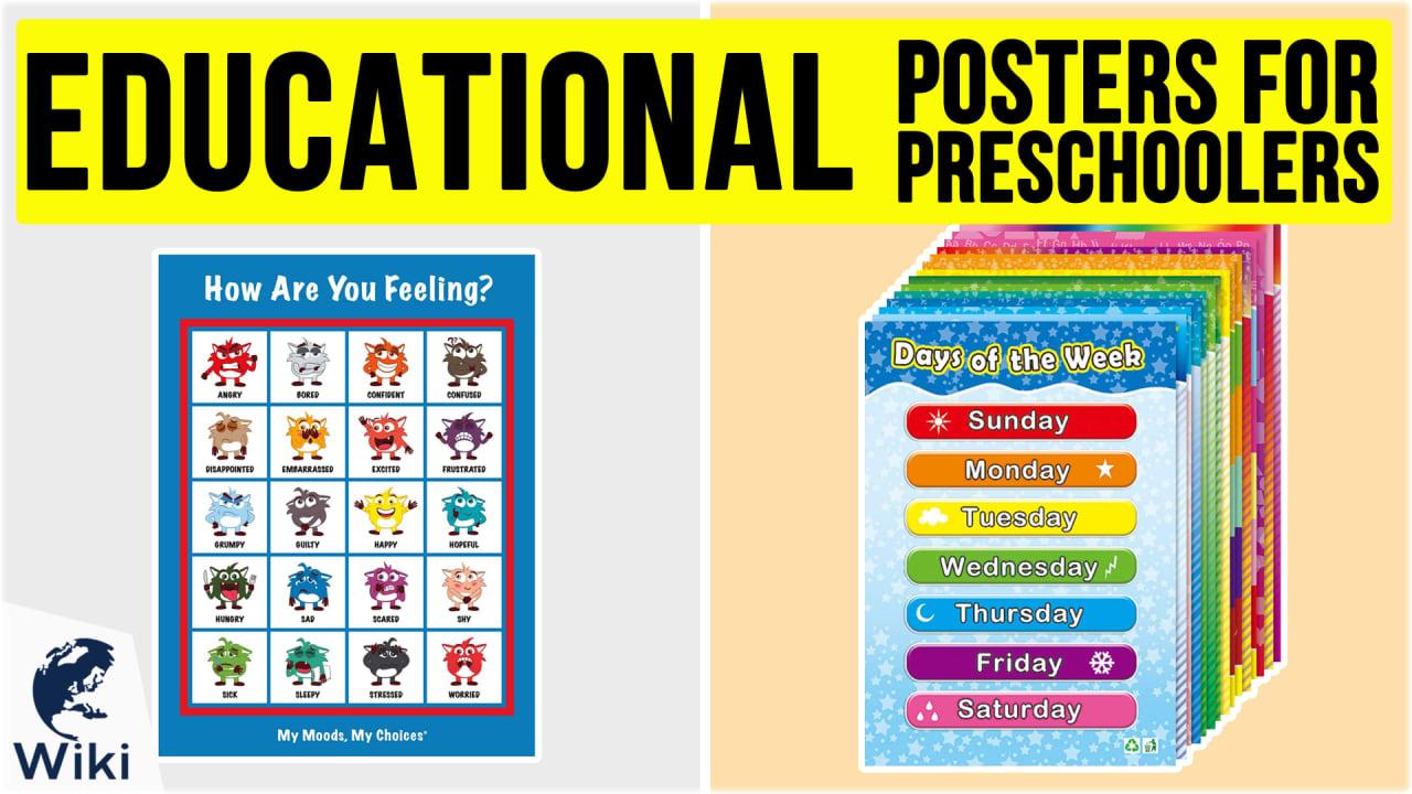 10 Best Educational Posters For Preschoolers