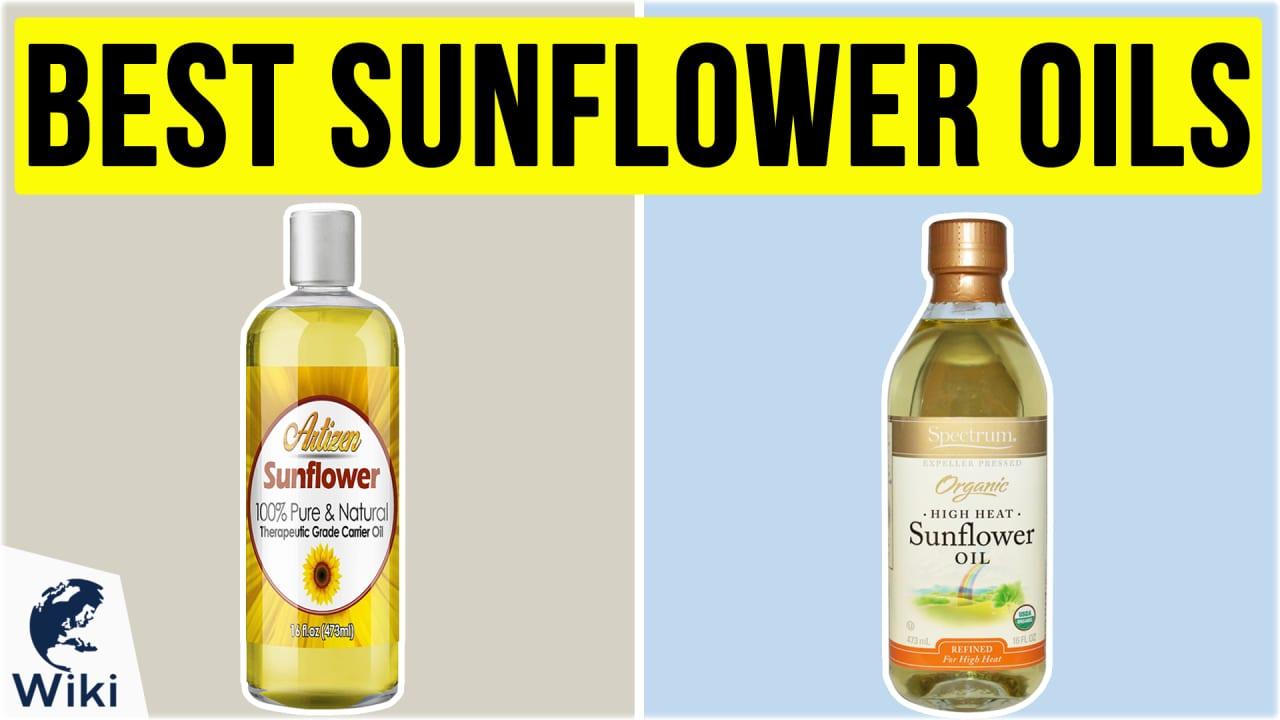 10 Best Sunflower Oils