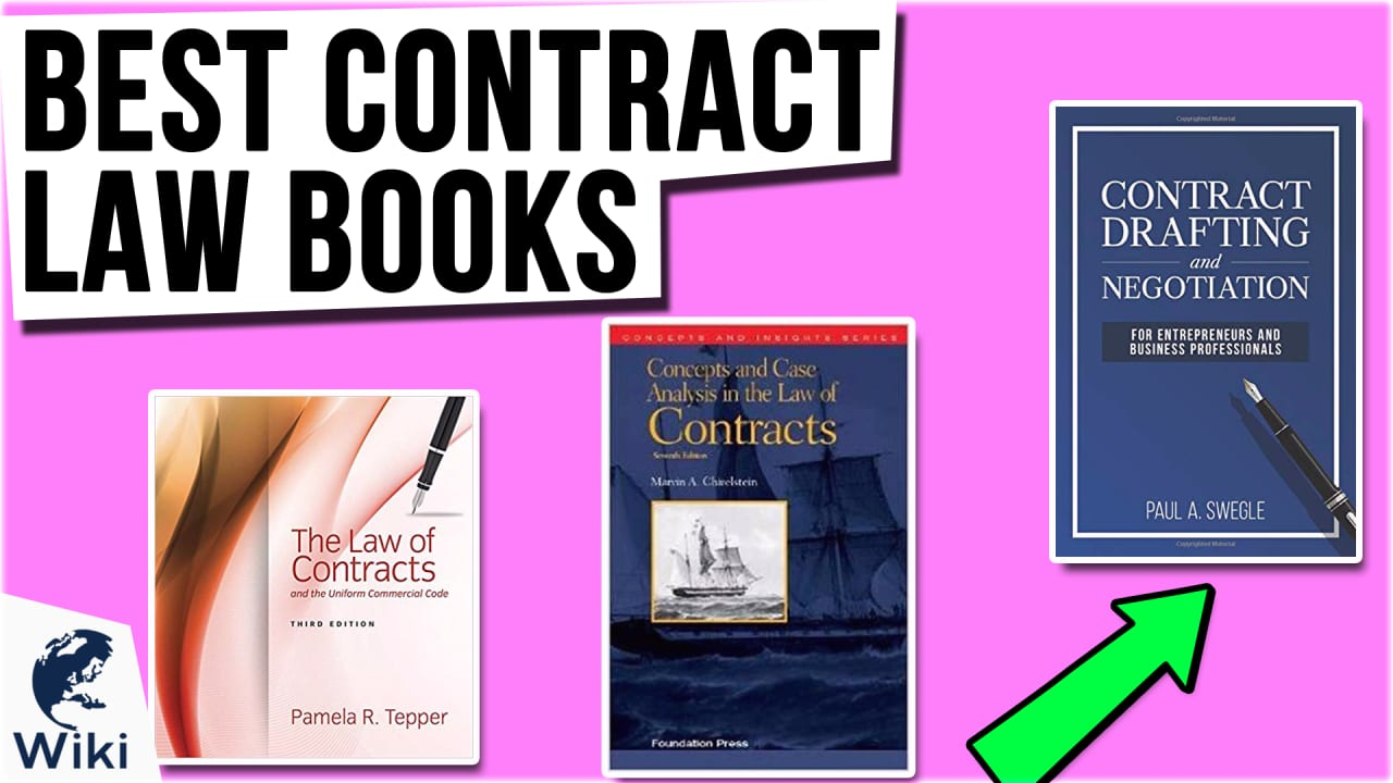 10 Best Contract Law Books