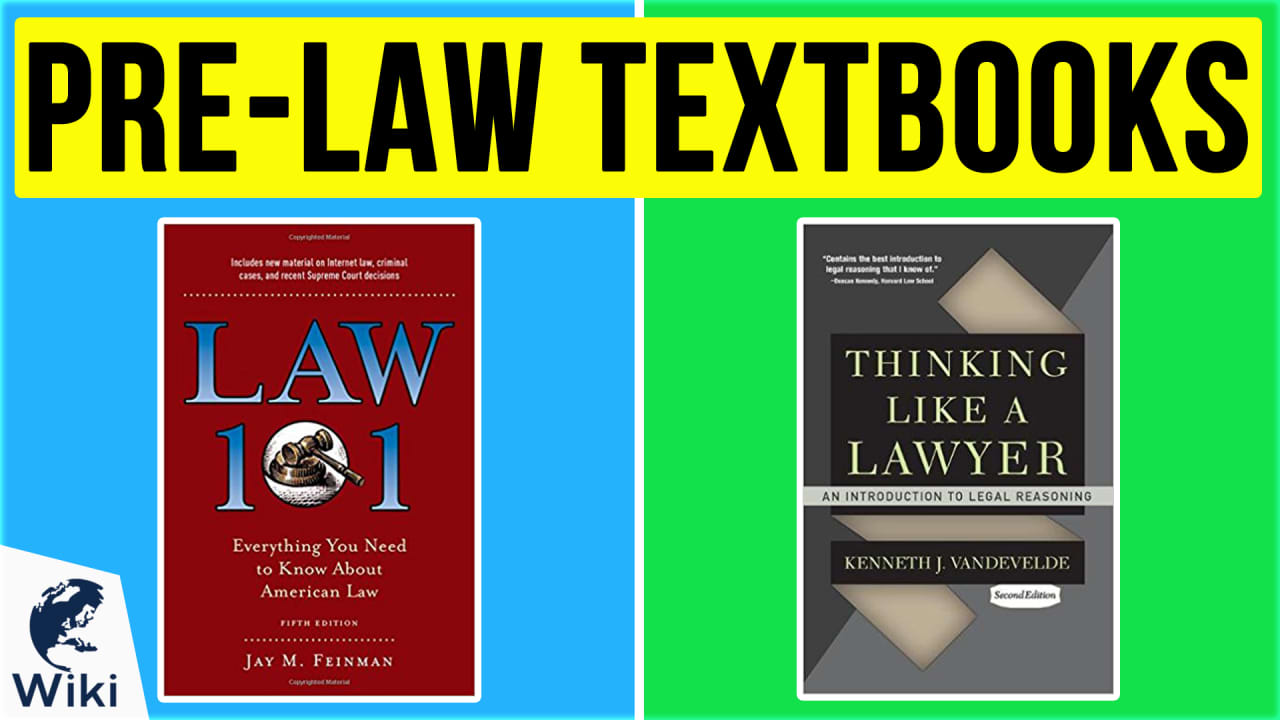 10 Best Pre-Law Textbooks