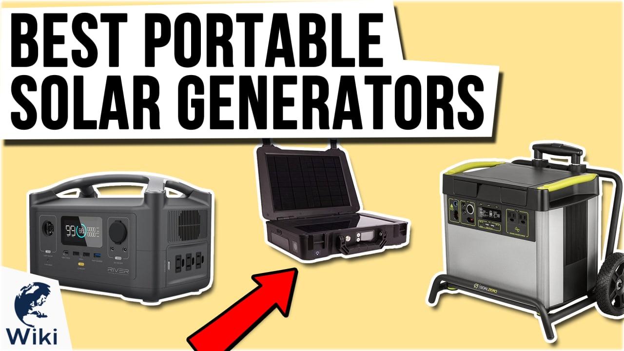 10 Best Portable Solar Generators