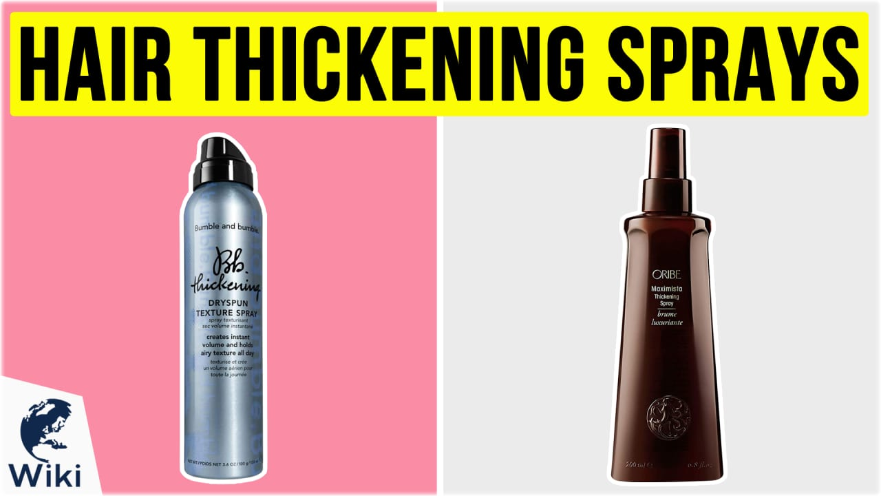 10 Best Hair Thickening Sprays