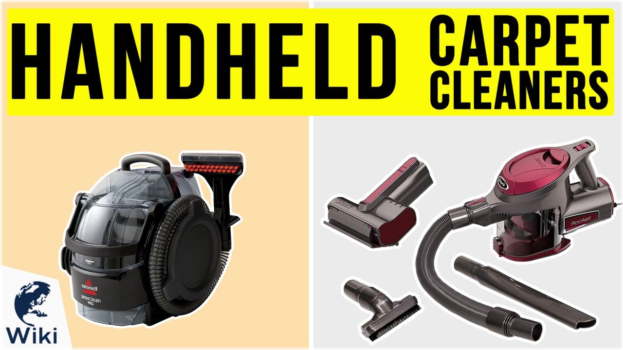 8 Best Handheld Carpet Cleaners
