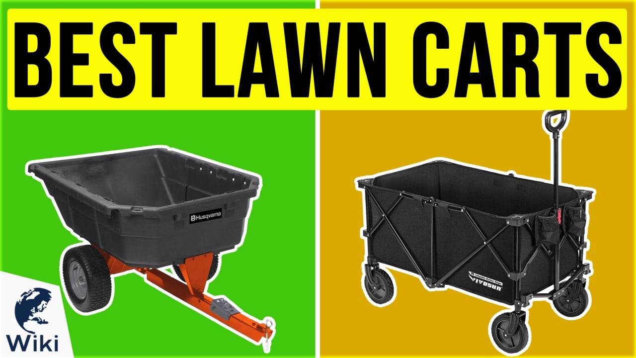 10 Best Lawn Carts