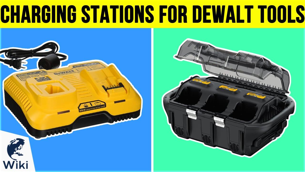 6 Best Charging Stations For Dewalt Tools