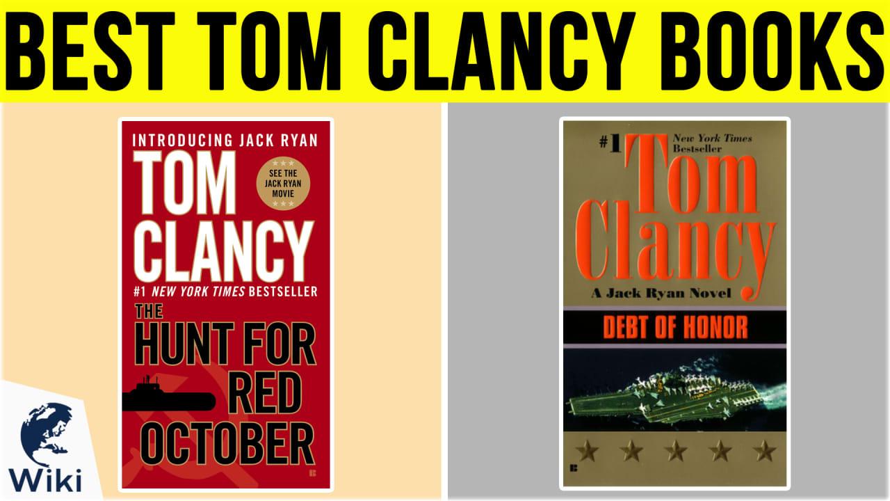 10 Best Tom Clancy Books