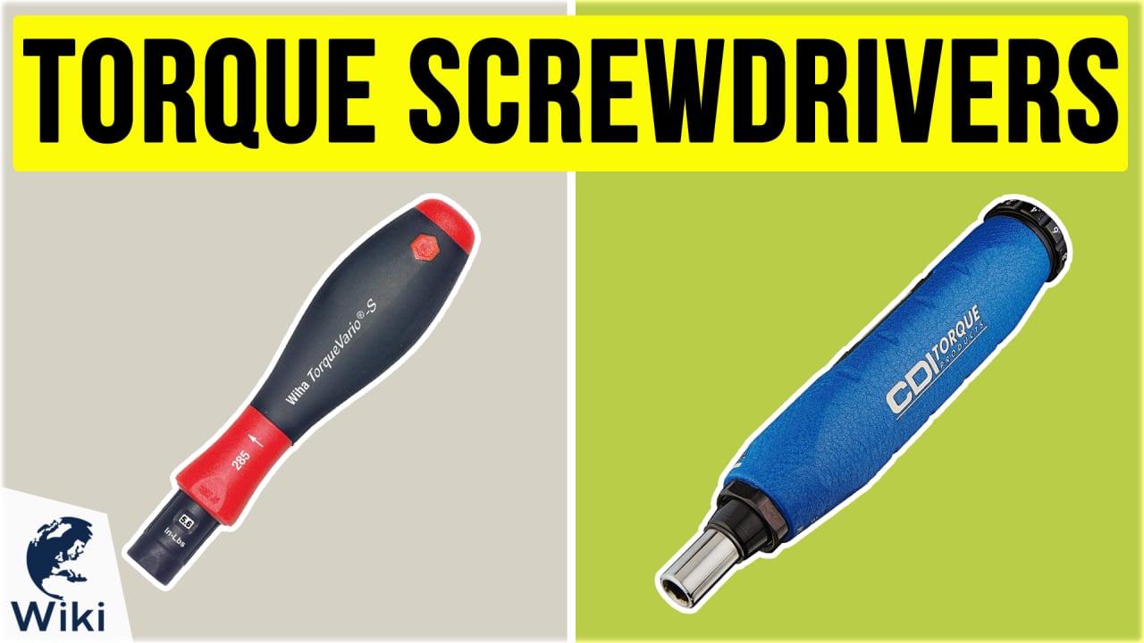 10 Best Torque Screwdrivers