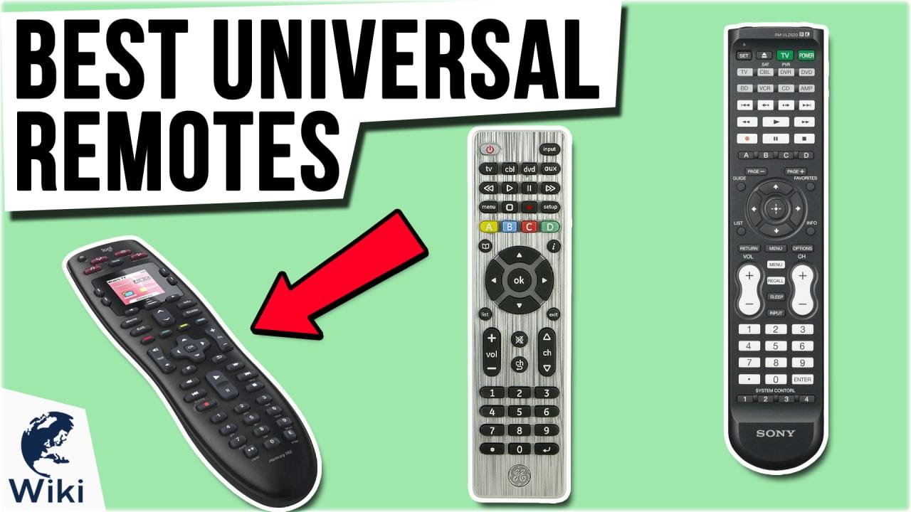 9 Best Universal Remotes