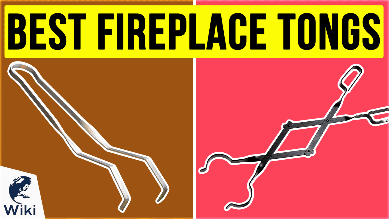 9 Best Fireplace Tongs