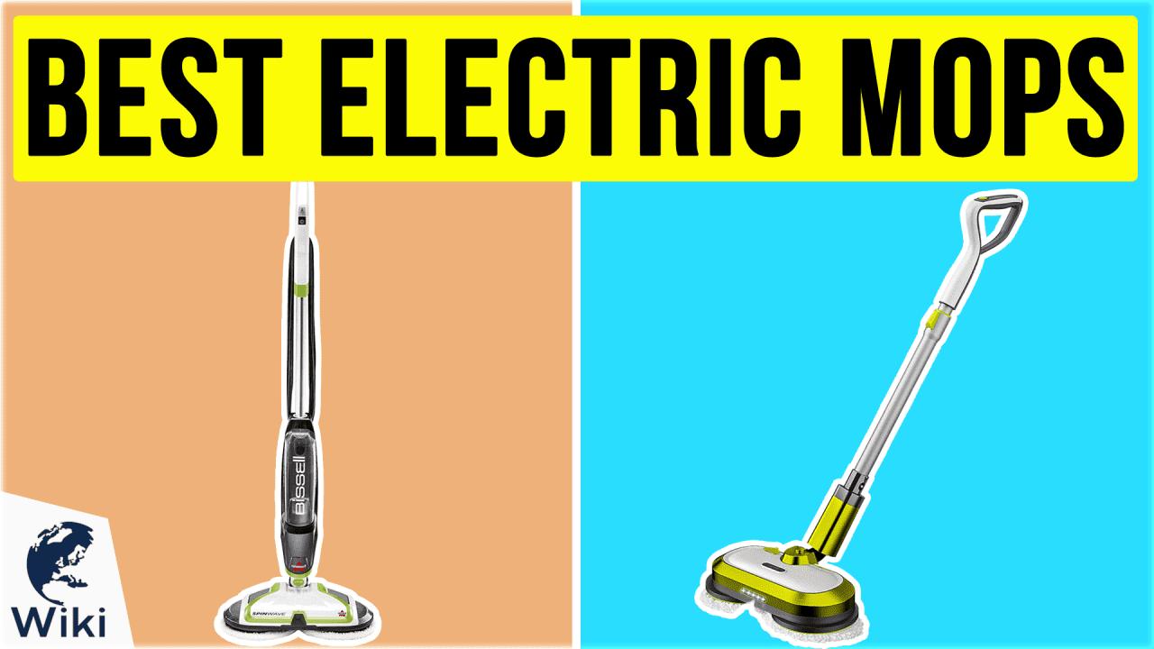 10 Best Electric Mops