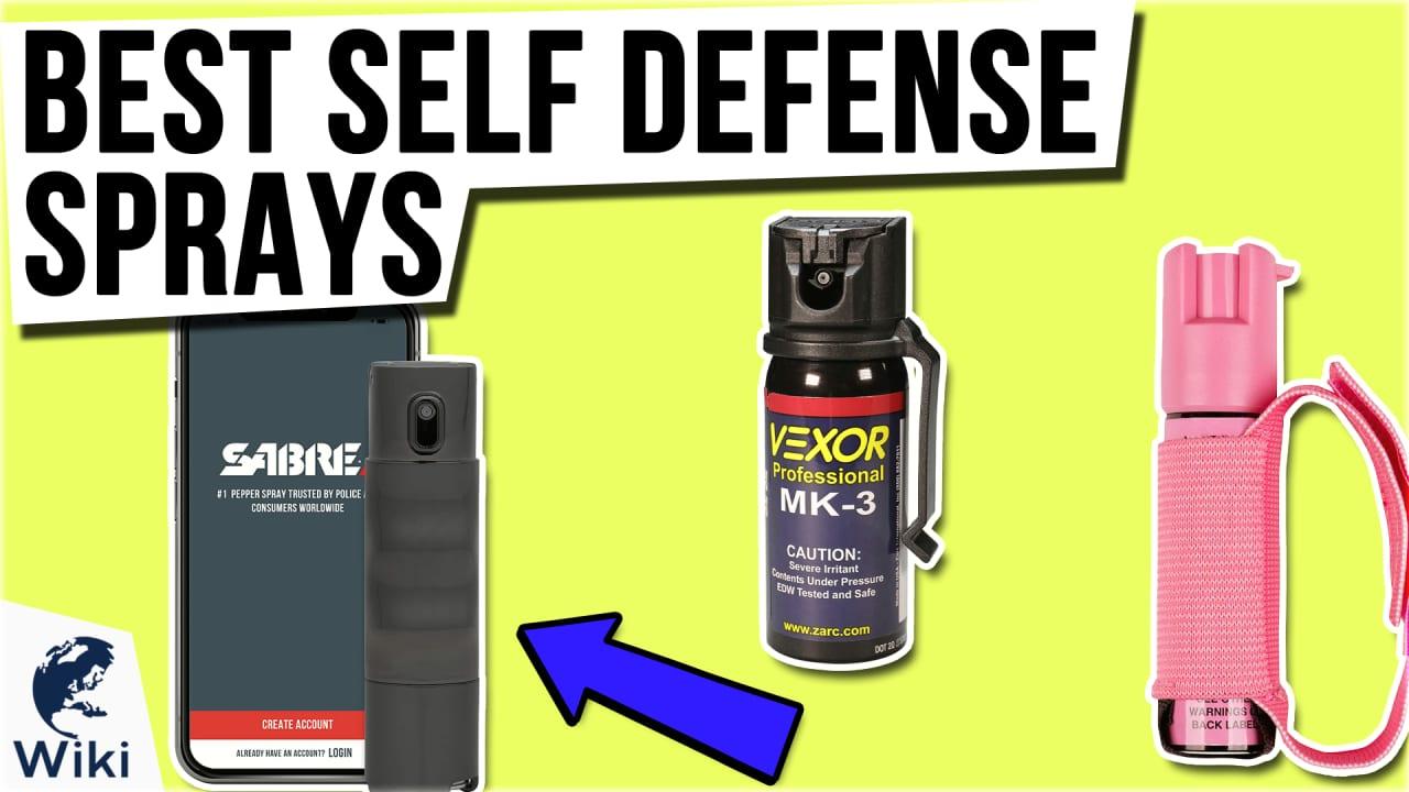 10 Best Self Defense Sprays
