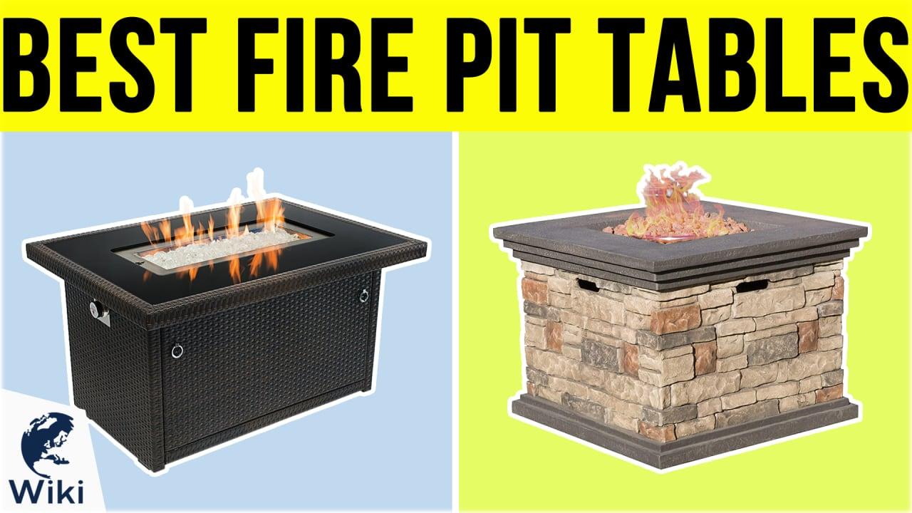10 Best Fire Pit Tables