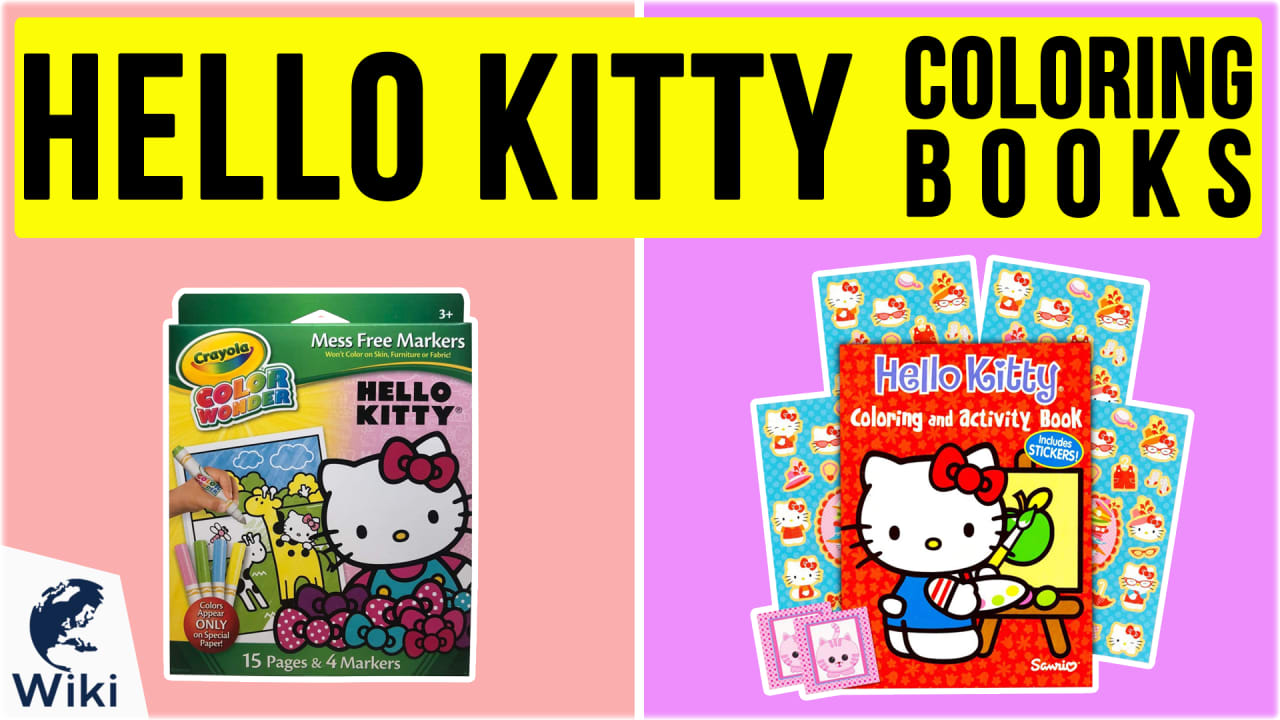 9 Best Hello Kitty Coloring Books