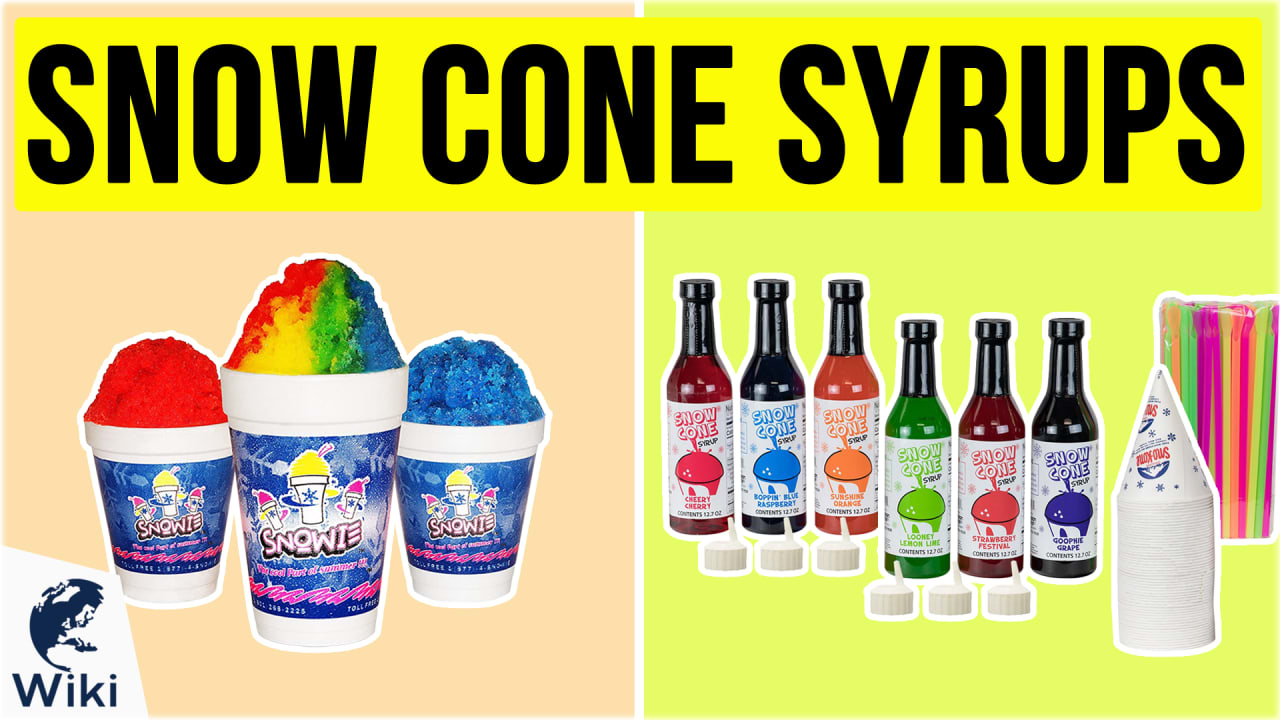 9 Best Snow Cone Syrups