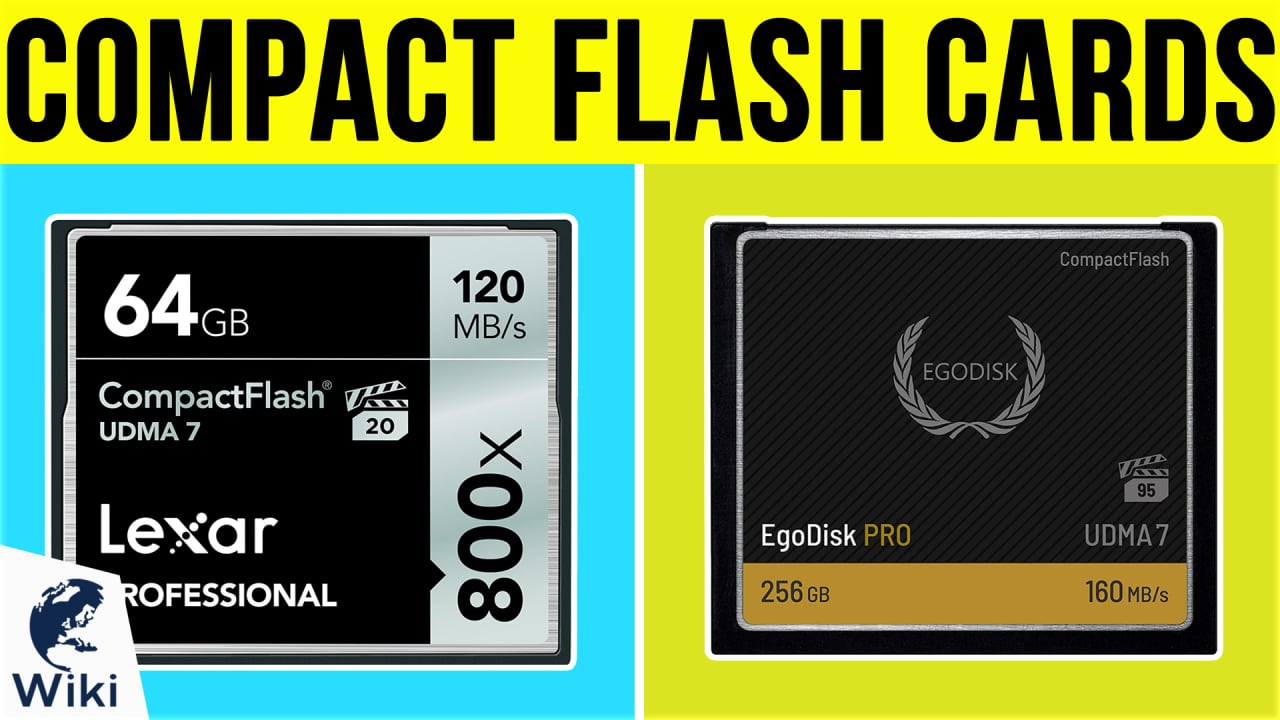8 Best Compact Flash Cards