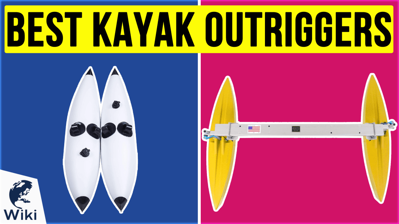 6 Best Kayak Outriggers