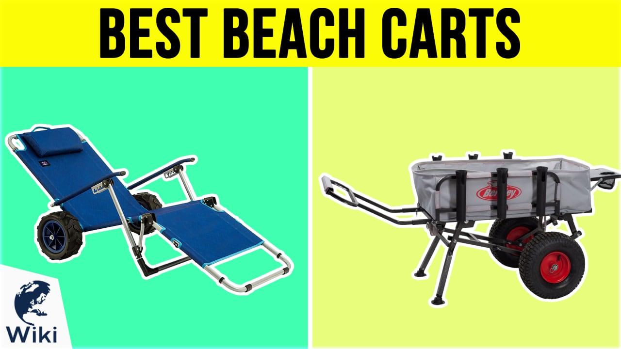 10 Best Beach Carts
