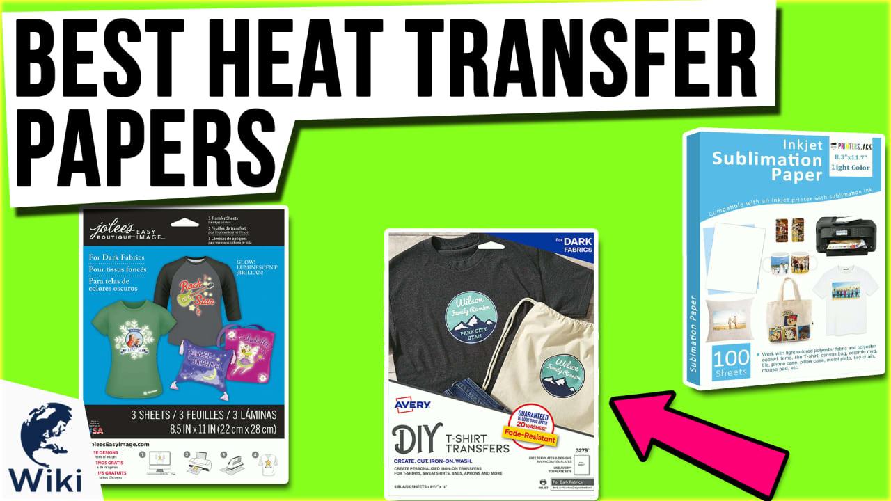 10 Best Heat Transfer Papers