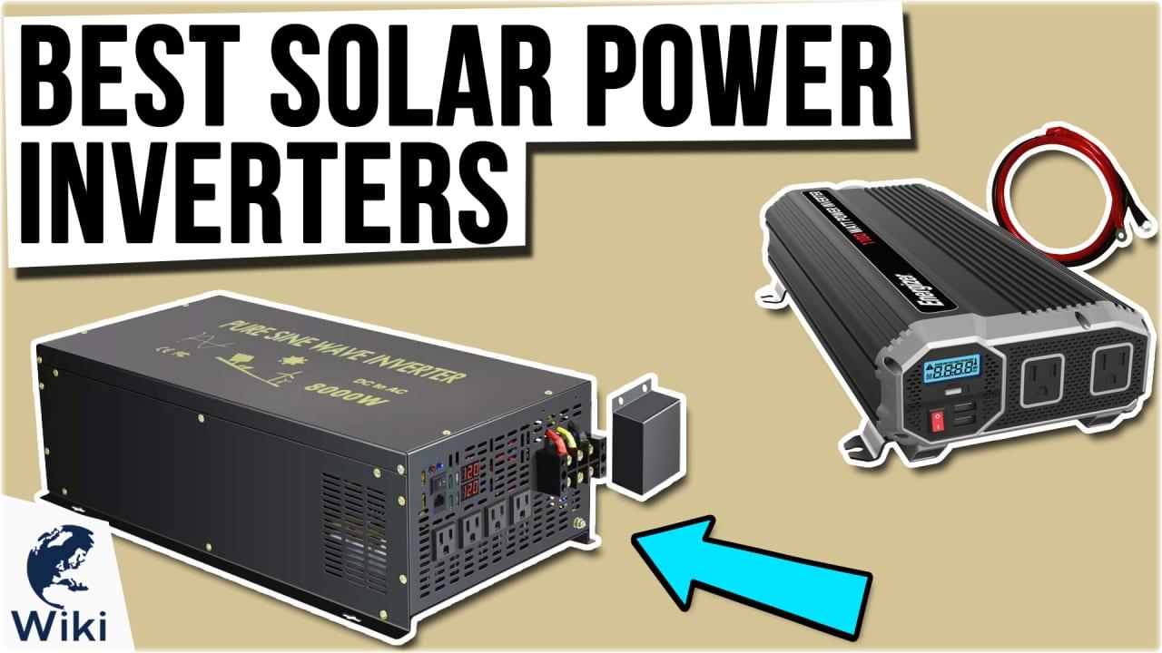 7 Best Solar Power Inverters