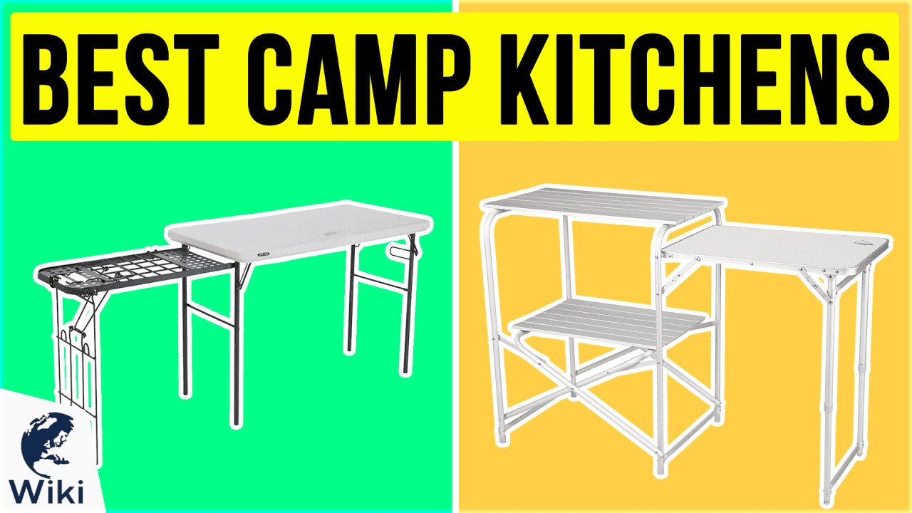 10 Best Camp Kitchens