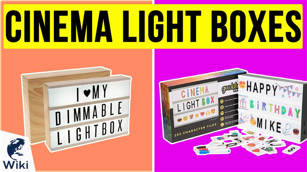 10 Best Cinema Light Boxes