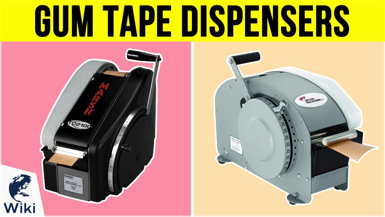 7 Best Gum Tape Dispensers