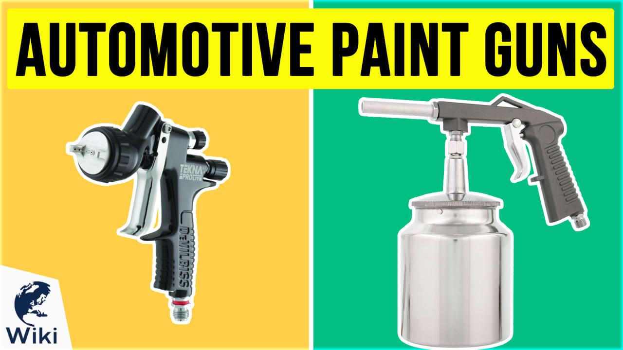10 Best Automotive Paint Guns