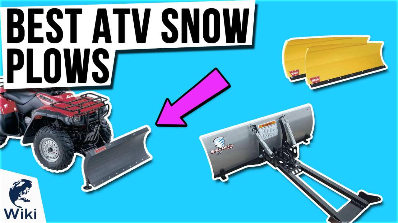8 Best ATV Snow Plows