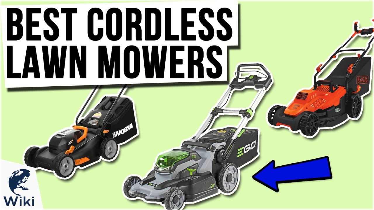 10 Best Cordless Lawn Mowers