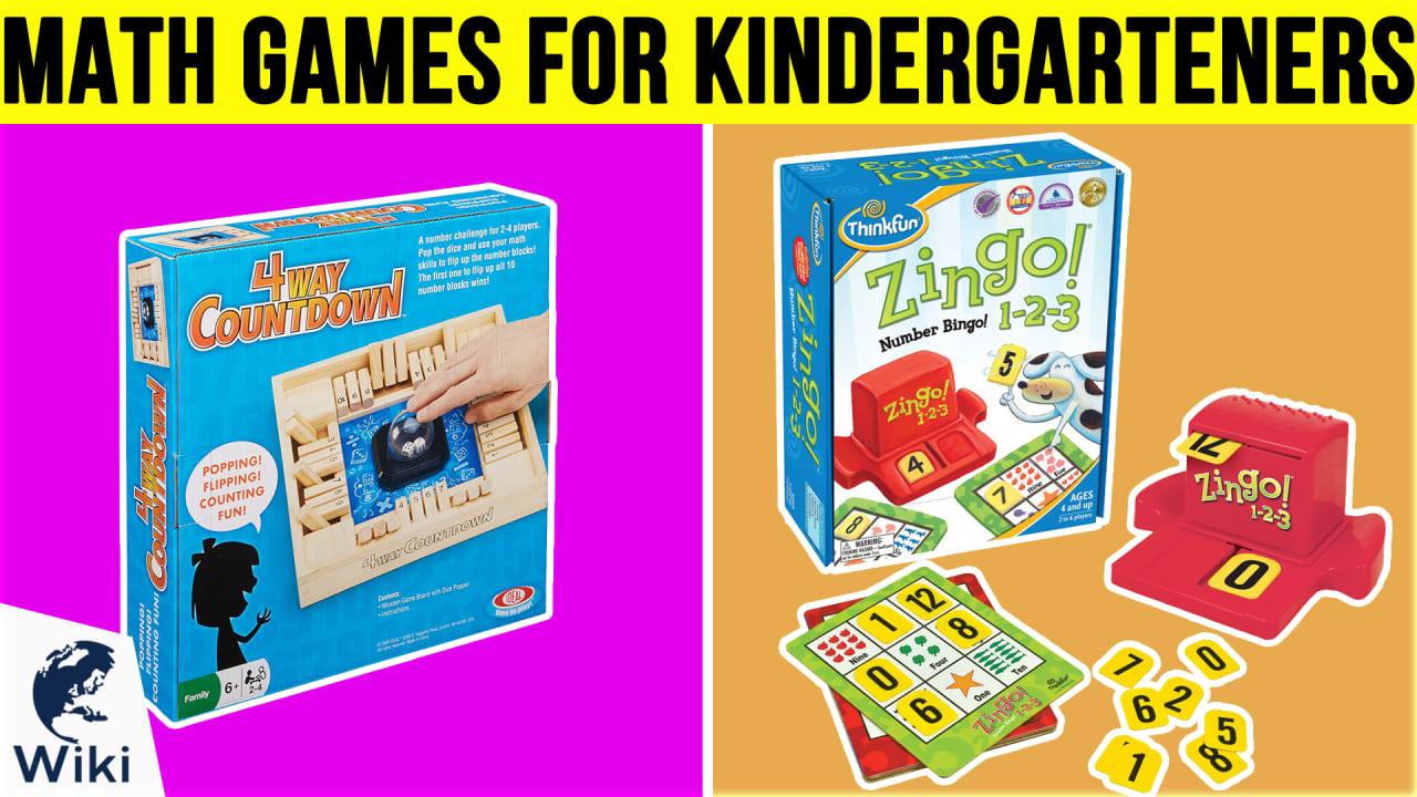10 Best Math Games For Kindergartners