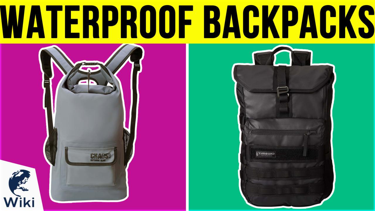 10 Best Waterproof Backpacks
