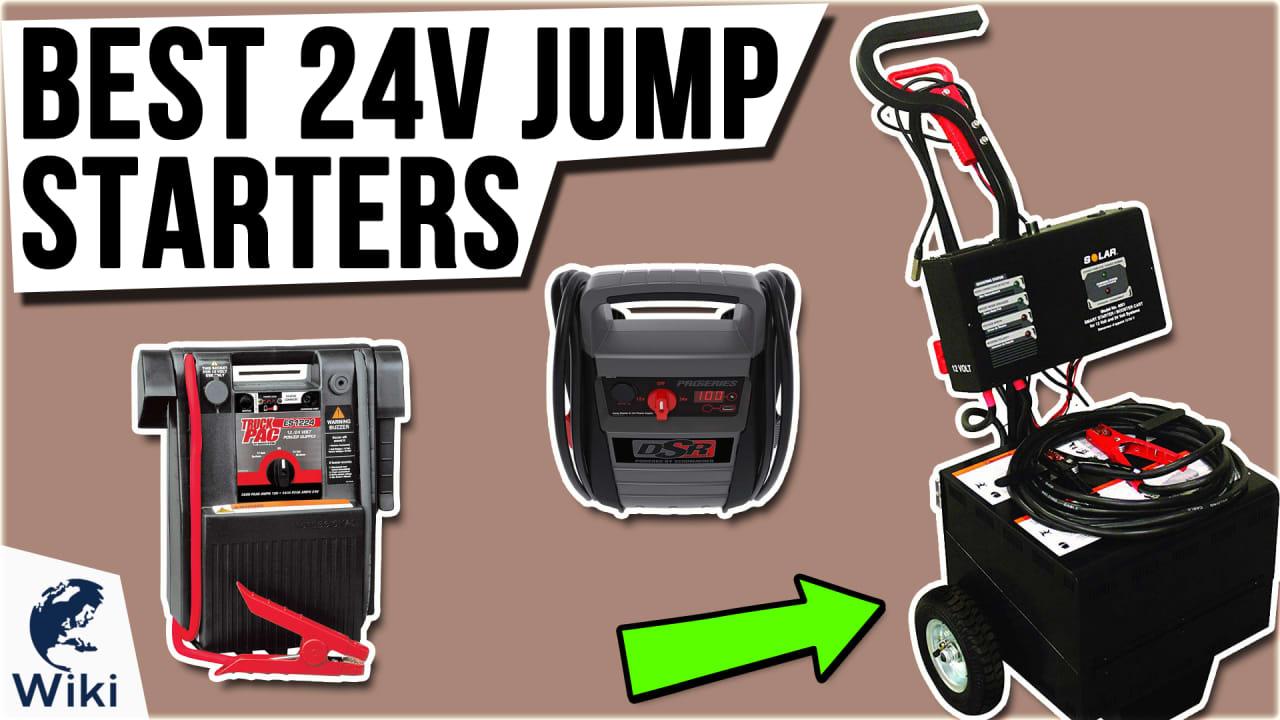 6 Best 24V Jump Starters